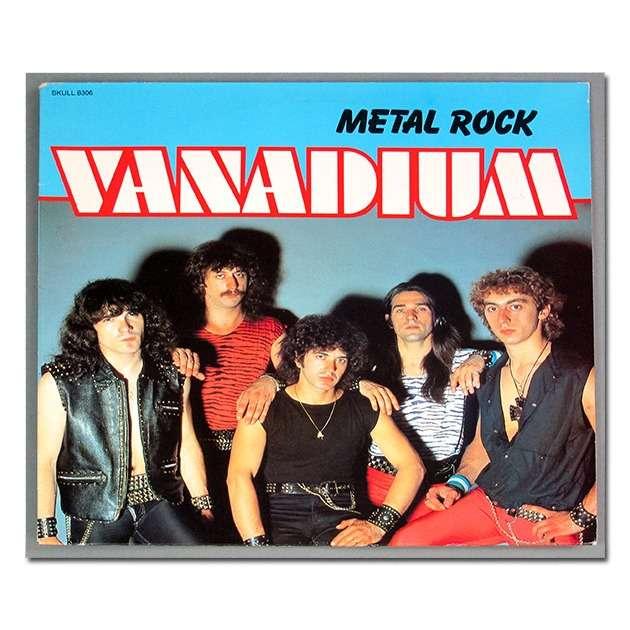 vanadium metal rock