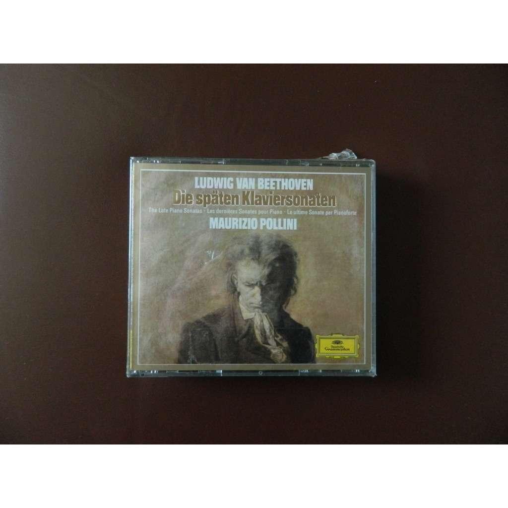 Maurizio Pollini Beethoven The late Piano Sonatas 28-32 DG W. GERMANY