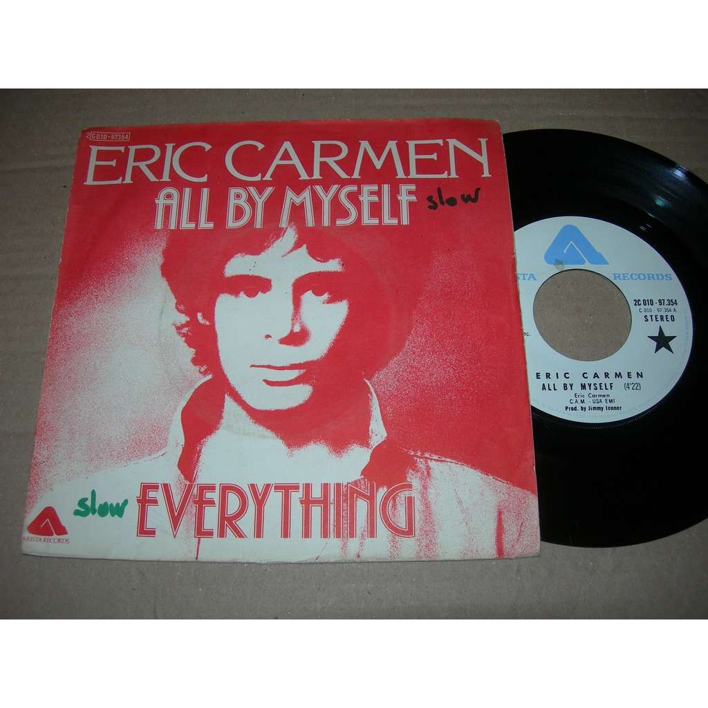 eric carmen all by myself ( proche NM / VG++ )
