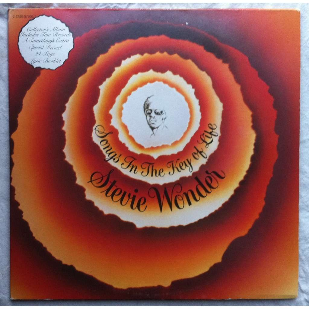 Songs In The Key Of Life By Stevie Wonder Lp X 2 With
