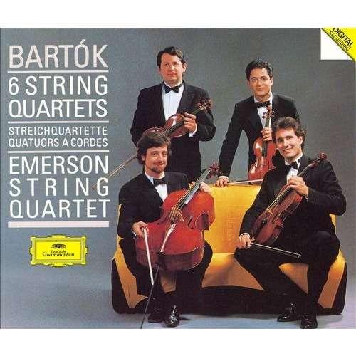 Bartók, Béla 6 String Quartets / Emerson Quartet