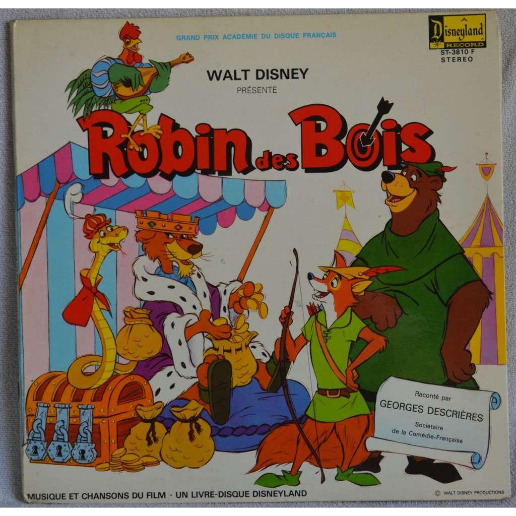 Robin des bois (walt disney pochette ouvrante) by Georges  ~ Walt Disney Robin Des Bois