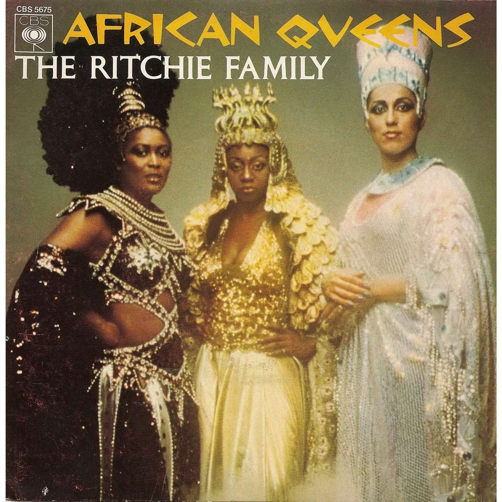 African Queens By Ritchie Family Sp With Pycvinyl Ref