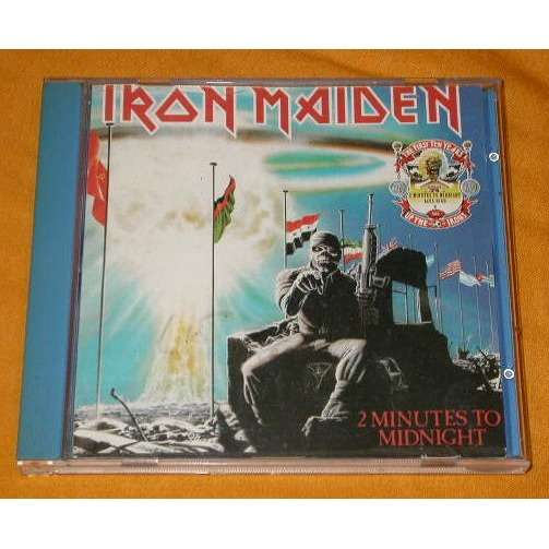 IRON MAIDEN 2 MINUTES TO MIDNIGHT / ACESS HIGH