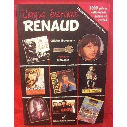 renaud l 39 argus nervant renaud book collector 39 s de 2000 pi ces sur renaud avec cote original. Black Bedroom Furniture Sets. Home Design Ideas