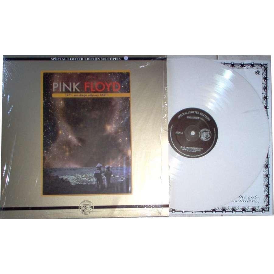 Pink Floyd 1971:San Diego Odyssey Part 1 (Ltd 300 copies live Lp WHITE vinyl on Swinging Pig lbl ps)