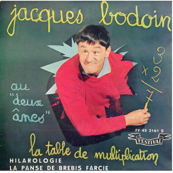 Jacques bodoin la table de multiplication hilarologie - Jacques bodoin la table de multiplication ...