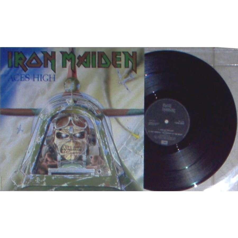iron maiden Aces High (UK 1984 Ltd 3-trk 12EP full ps)