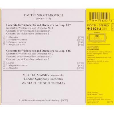 Cello concertos no 1 & 2 / maisky, tilson thomas by Shostakovich, Dmitri,  CD with melomaan