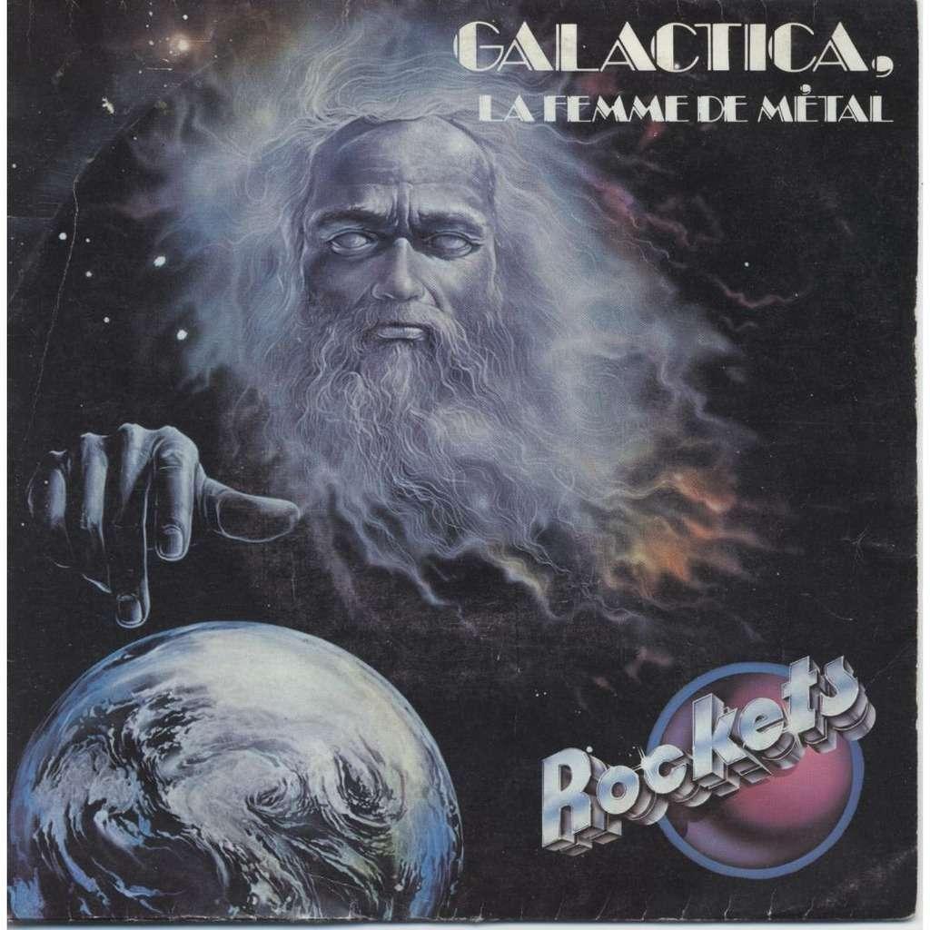 Galactica La Femme De Metal Synthetic Man By Rockets