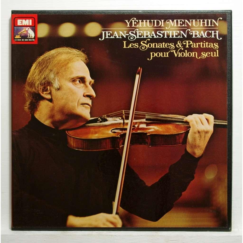 yehudi menuhin JS Bach : 6 sonatas & partitas for violin solo