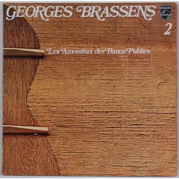 George brassens records vinyl and cds hard to find and - Brassens les amoureux des bancs publics ...