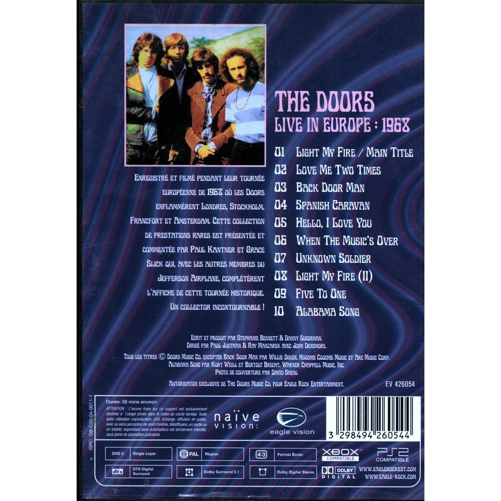 Clic Rock Radio The Doors Live At Bowl 68