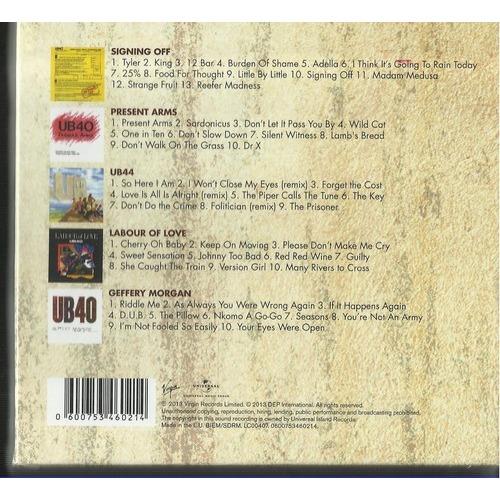 Classic album selection by Ub40, CD box with rockinronnie