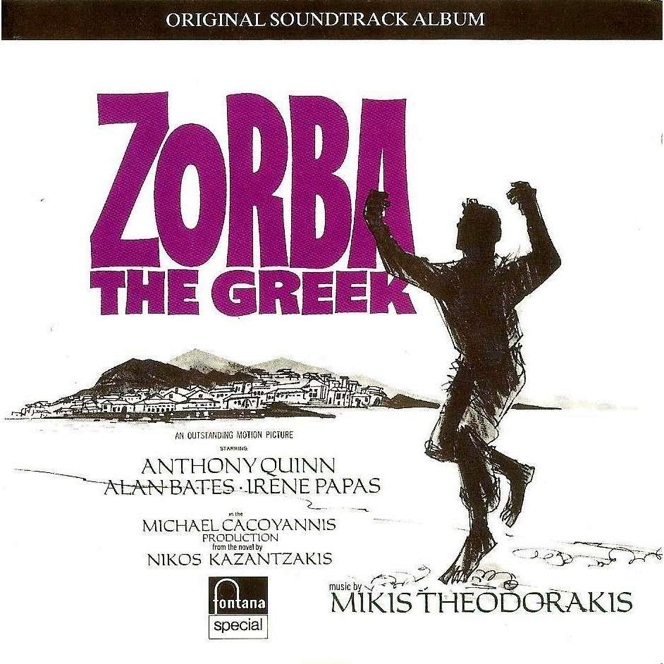 Zorba The Greek Original Soundtrack Album By Mikis