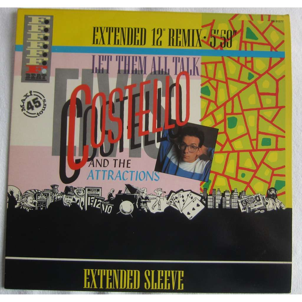 costello elvis and the attractions let them all talk