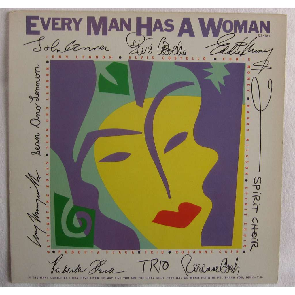 Lennon, John / Elvis Costello Others Every Man Has A Woman