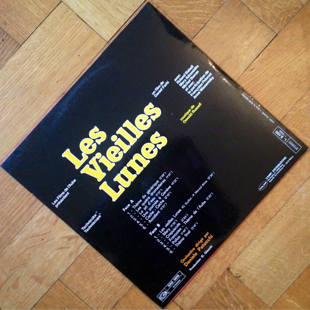 Daniele Patucchi Oswald Rusell Les Vieilles Lunes Rare Soundtrack Ost Cam Italy Top Nm Lp For Sale On Groovecollector Com