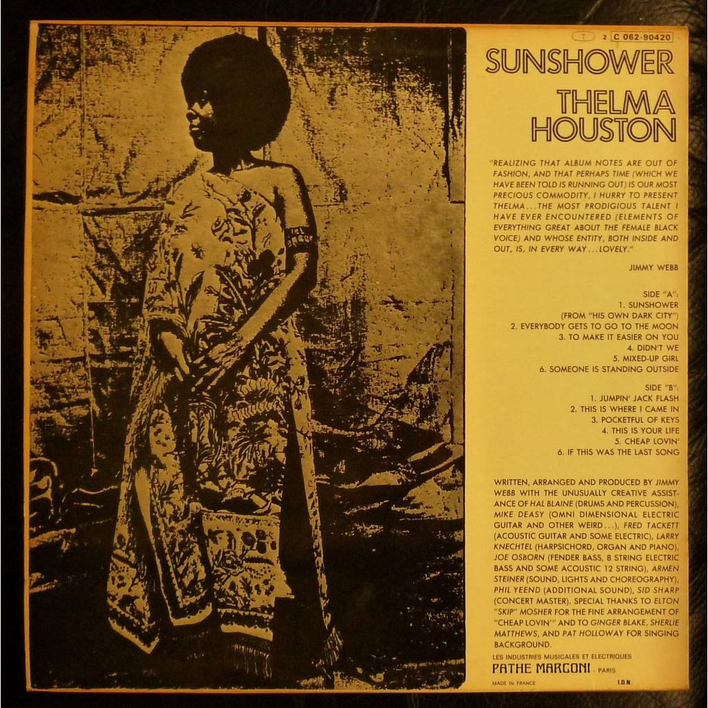 Sunshower French Press Biem By Houston Thelma Lp With