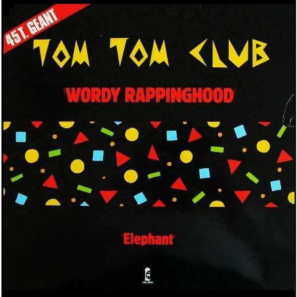 wordy rappinghood elephant tom tom club 12 45回転