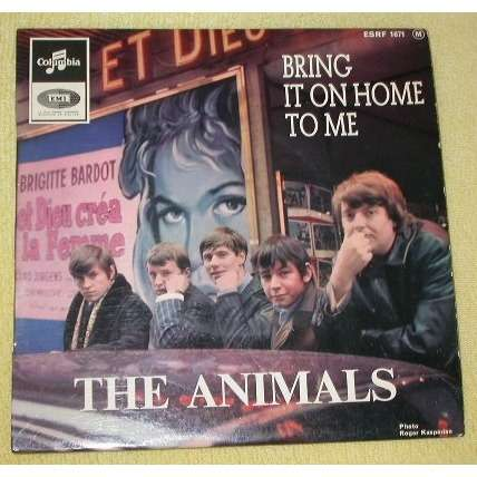 THE ANIMALS bring it on home to me