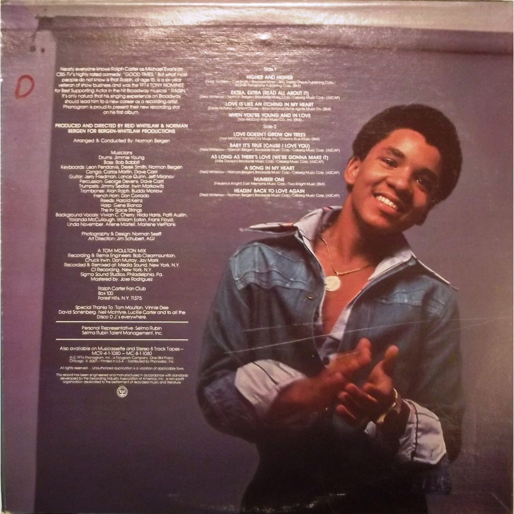 Ralph Carter Young Young and in love by R...