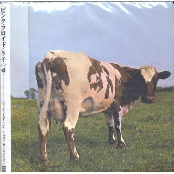 pink floyd Atom Heart Mother (Japan Ltd 'LPstyle' 5-trk CD card gatefold ps & inner slv & booklet & obi)