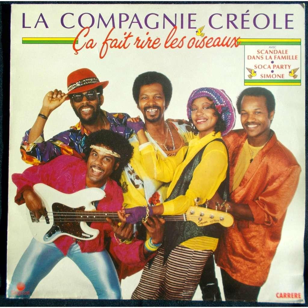 Ca Fait Rire Les Oiseaux By La Compagnie Creole Lp With