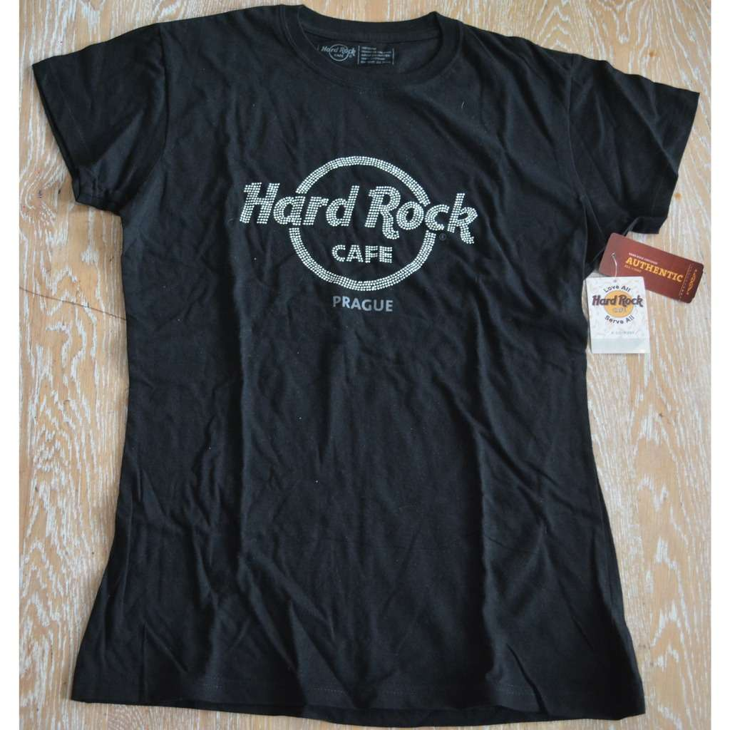 Hard Rock Cafe T Shirt Amsterdam Women