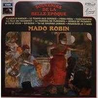 Robin, Mado Souvenirs de la belle epoque