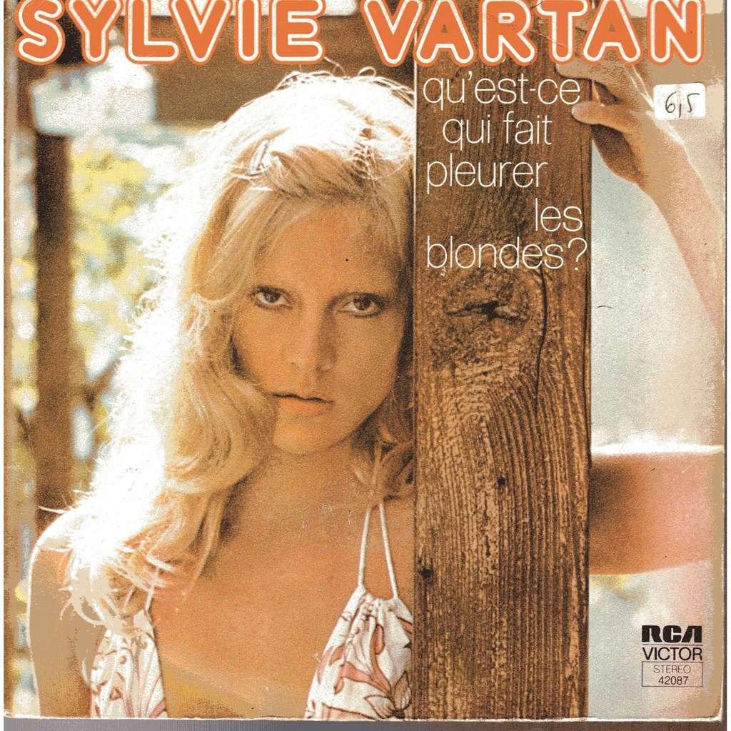 qu 39 est ce qui fait pleurer les blondes la lettre de sylvie vartan sp chez capri1965 ref. Black Bedroom Furniture Sets. Home Design Ideas