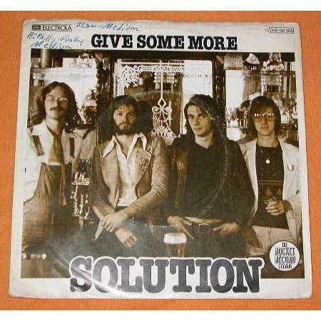 SOLUTION GIVE SOME MORE (