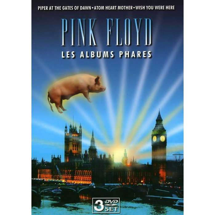 pink floyd albums phares / Landmark Albums (Piper At The Gates Of Dawn, Atom Heart Mother, Wish You Were Here)