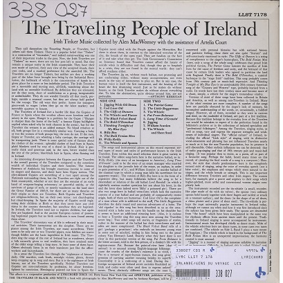 The Traveling People Of Ireland Irish Tinker Music