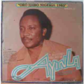 ALHAJI KOLLINGTON AYINLA & HIS NEW FUJI GROUP - Oro idibo Nigeria 1983 - LP
