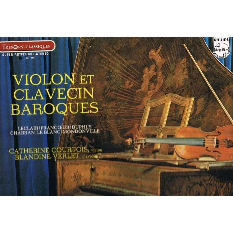CATHERINE COURTOIS - blandine verlet Violon et clavecin baroques