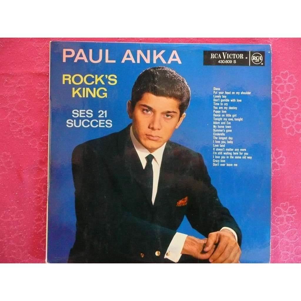 paul anka Rock's King