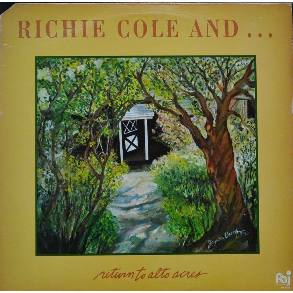 Richie Cole Return to Alto Acres