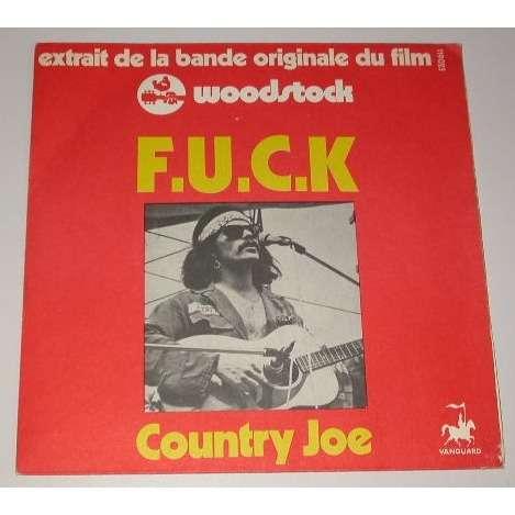 COUNTRY JOE fuck - the fish cheer i feel i'm fixin' - to - die - rag + 1