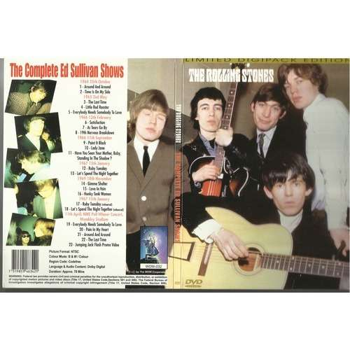 The Complete Ed Sullivan Shows By The Rolling Stones Dvd