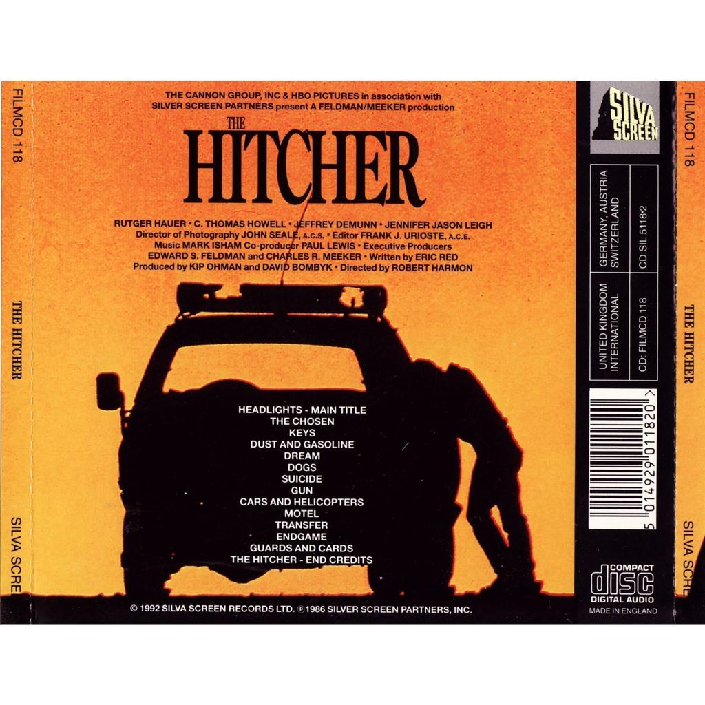 The Hitcher Original Soundtrack Recording By Mark Isham