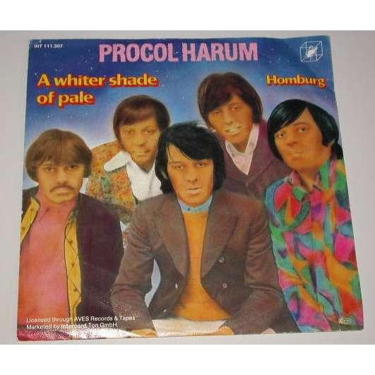 procol harum a whiter shade of pale / homburg
