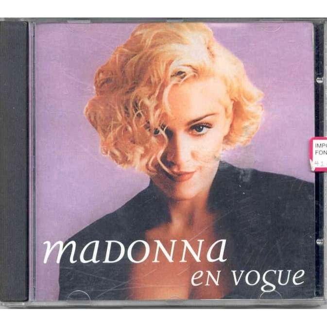 En Vogue The Remixes By Madonna Cd With Gmvrecords
