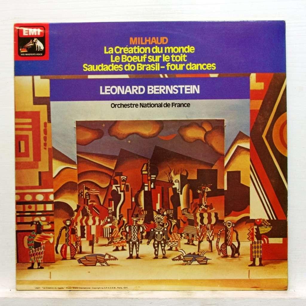 Leonard Bernstein Darius MilhaudNew York Philharmonic Orchestra Schola Cantorum Of New York Hugh Ros