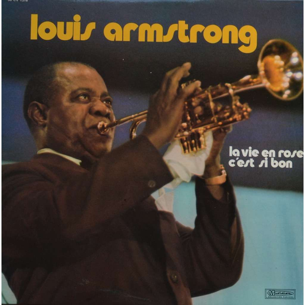 La Vie En Rose C Est Si Bon By Louis Armstrong Lp With
