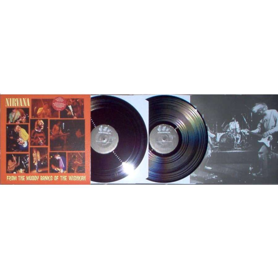 Nirvana From The Muddy Banks Of The Wishkah (USA Ltd re 17-trk 3-sided 2LP  ps & insert)