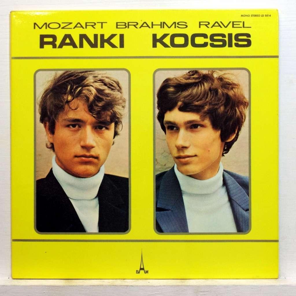 Mozart Brahms Ravel By Dezso Ranki Amp Zoltan Kocsis Lp