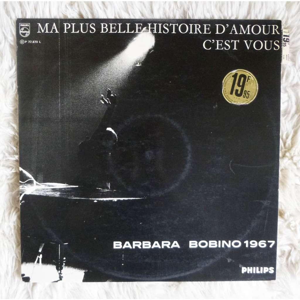bobino 1967 ma plus belle histoire d 39 amour c 39 est vous de barbara 33t gatefold chez. Black Bedroom Furniture Sets. Home Design Ideas
