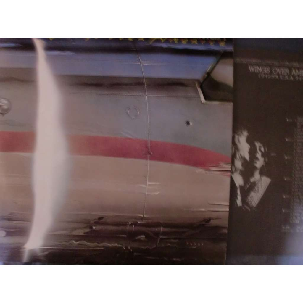 paul mccartney and wings wings over america (w/poster)