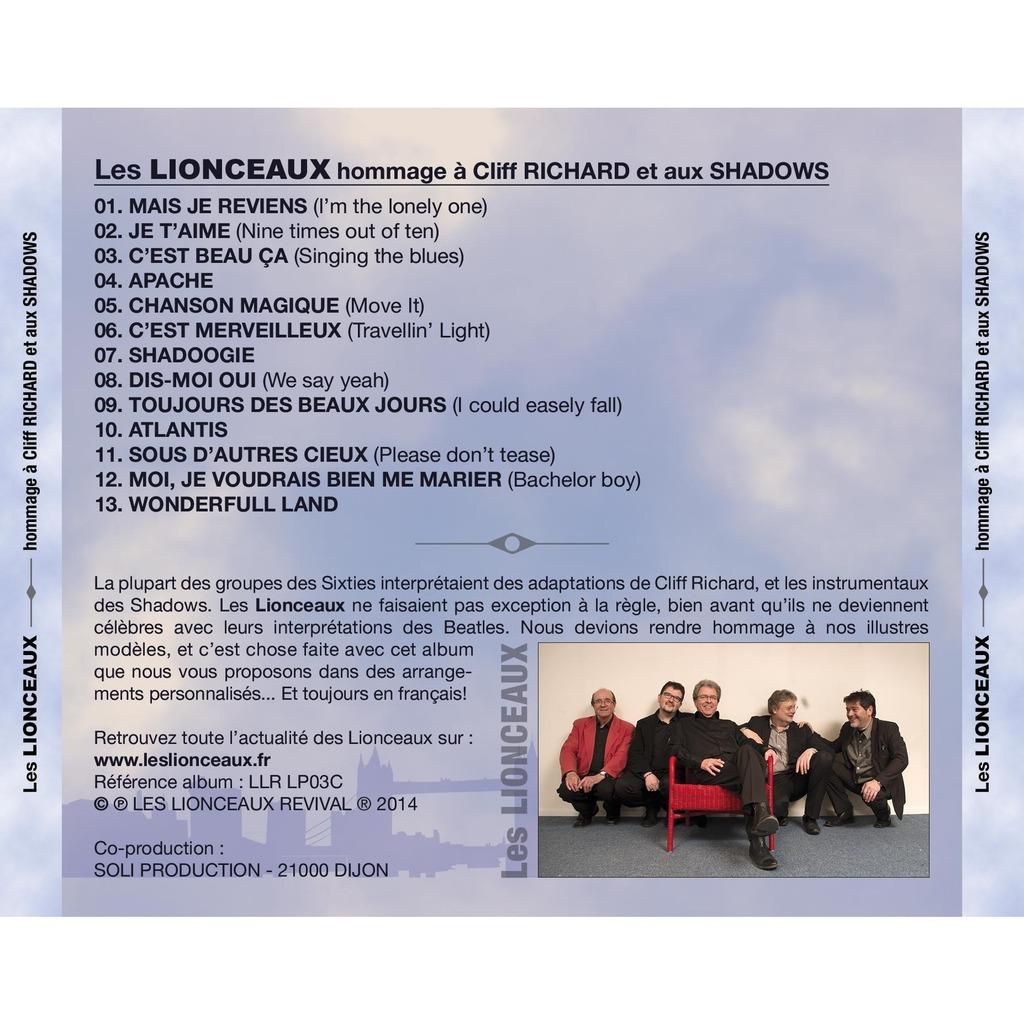 LES LIONCEAUX Hommage à Cliff Richard et aux Shadows